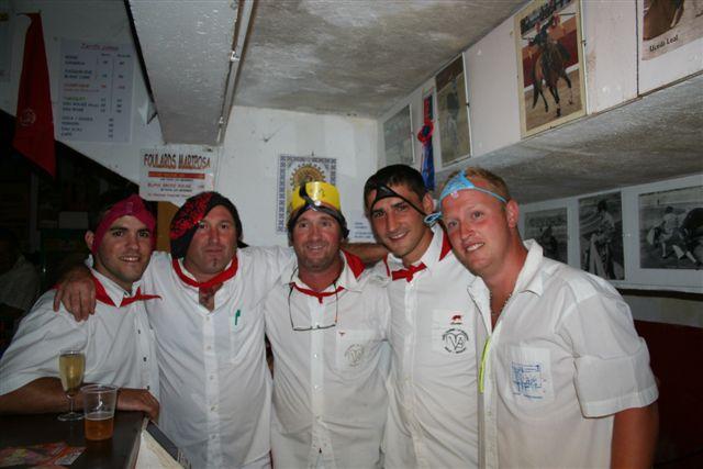 SEB, FRANCKY, SERGIO, MATHIEU, LIONEL