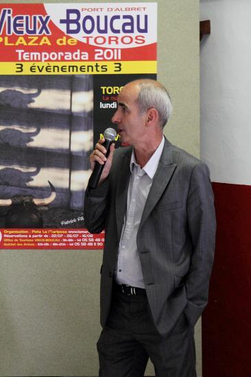 Mr Pierre FROUSTEY, Maire de Vieux Boucau