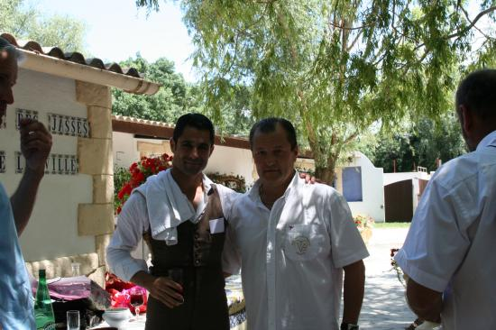 Marc SERRANO et le Président