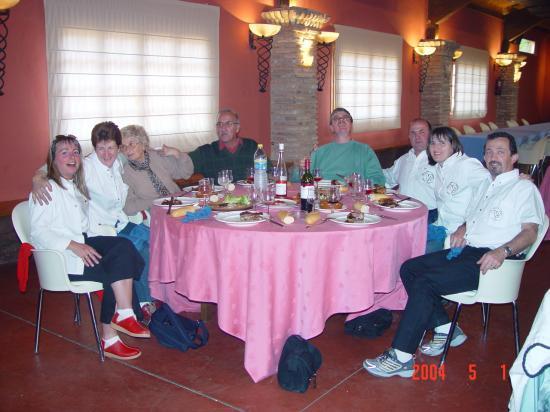 Repas à la Finca El MONTECILLO