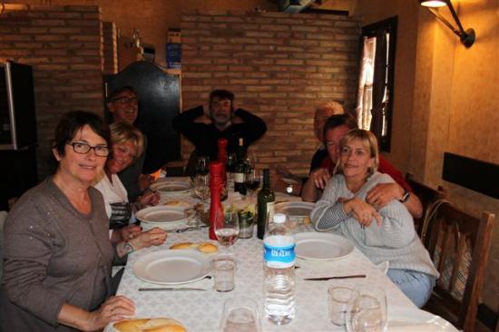 FINCA EL MONTECILLO : LE RESTAURANT