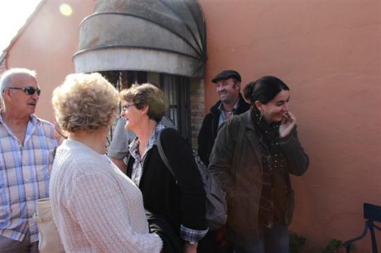 FINCA EL MONTECILLO : EN TERRASSE